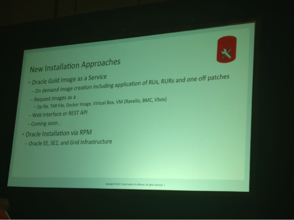 From The DBA Perspective: Highlights from Oracle OpenWorld
