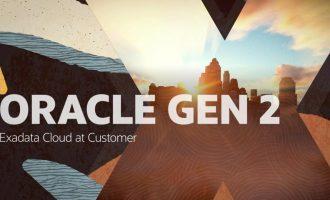 Oracle Cloud at Customer - Exadata