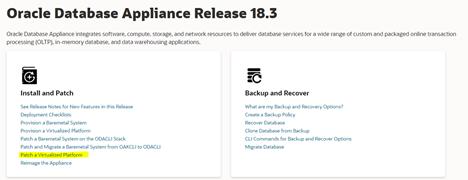ODA Release 18.3