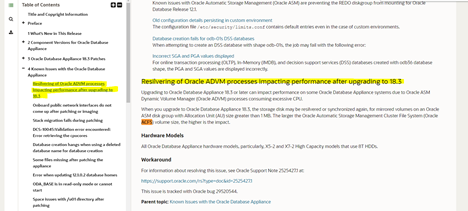 Resilvering of Oracle ADVM