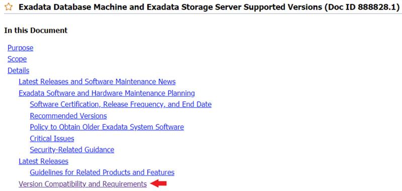 exadata database machine
